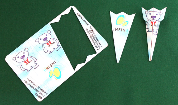 カード型ゴルフティがオリジナルで作れます