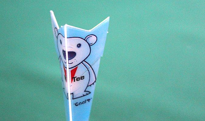 ゴルファー向けギフトに最適なカード型ゴルフティー、マイティ。
