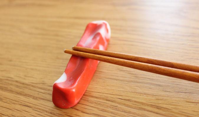 プラフレンドで箸置きを作ってみました。