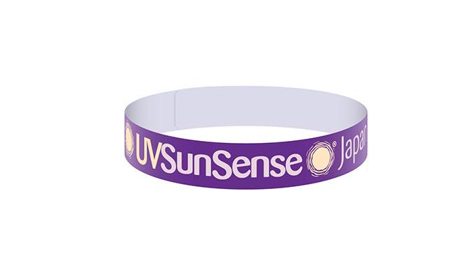 紫外線をどれくらい受けたかが分かるリストバンド