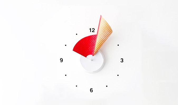 オシャレな壁掛け時計 マニフォールドクロック
