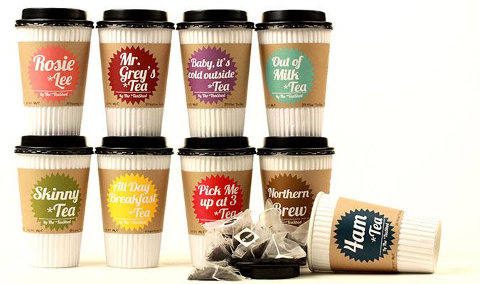イギリスの紅茶ブランド、teashed