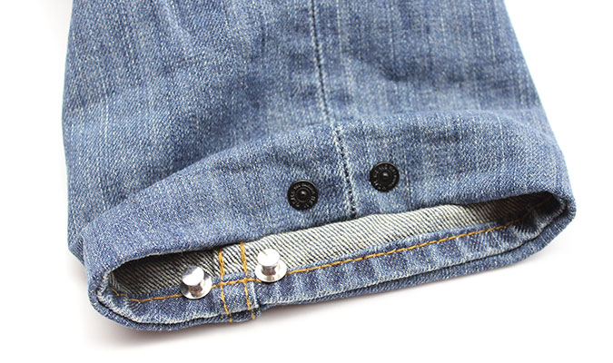 裾上げしてもらった後に、さらに裾の長さを調整したいときはコレ。