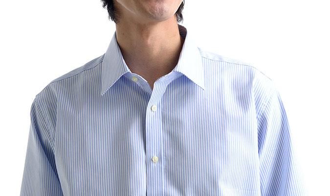 汗をかいても心配いらないワイシャツ。