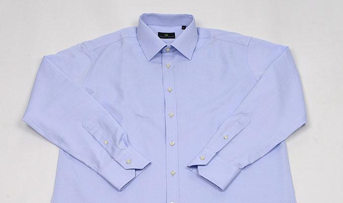 汗染み対策が施されているワイシャツ