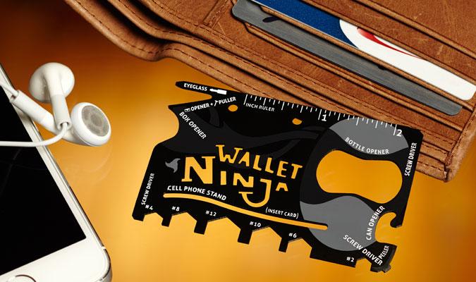 Wallet Ninja Multi-Tool
