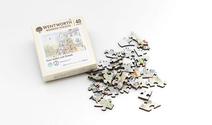 ピーターラビット 木製ジグゾーパズル