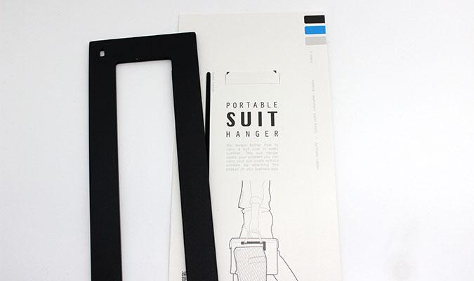 ポータブル スーツ ハンガー