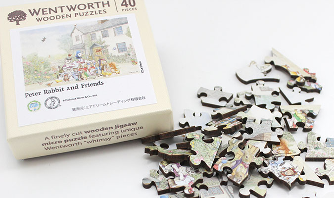 ウェントワース(Wentworth Wooden Puzzles)