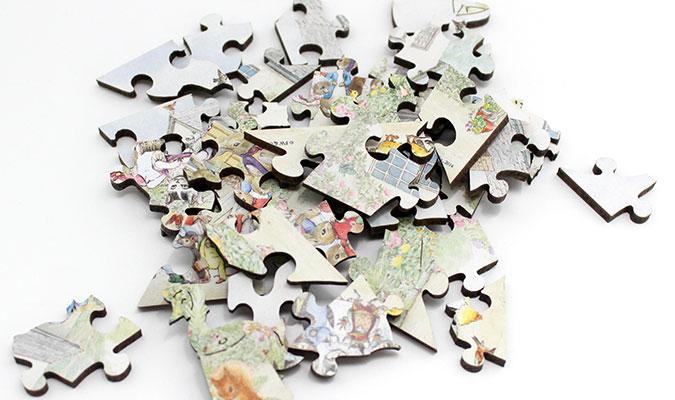 女性に人気のジグゾーパズル