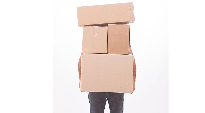 重い荷物を簡単に運ぶ便利な道具「キャリーラクダ」。