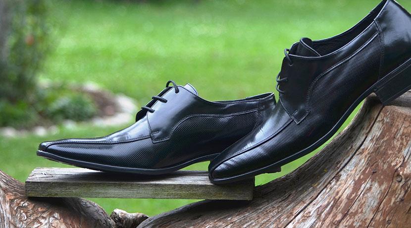 携帯用靴磨きスポンジ ビジネスウォーカー コンパクトシューシャイン