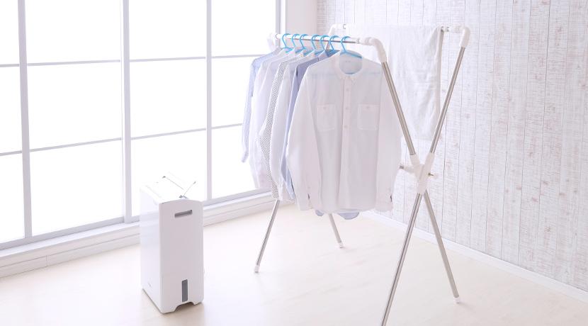 部屋干し番湿温度計(ドリテック)