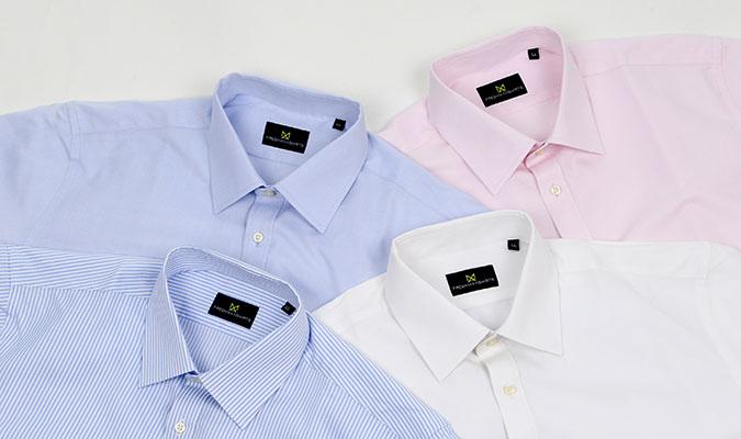 夏向けのワイシャツ フレッシュマックス