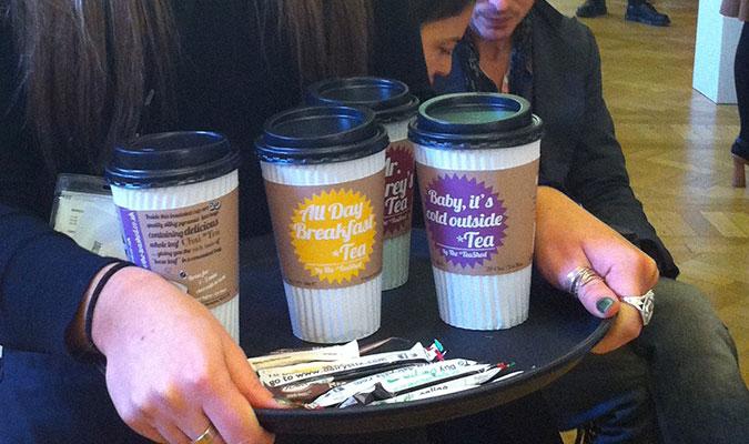 ホールリーフを使った紅茶ブランド、ティーシェッド