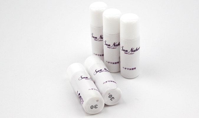 サンナホルのお試しセット第二弾、自然派化粧水WMローションも好評です。