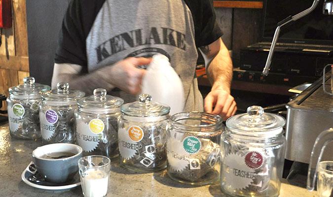 ホールリーフのフレッシュ感が味わえる紅茶。