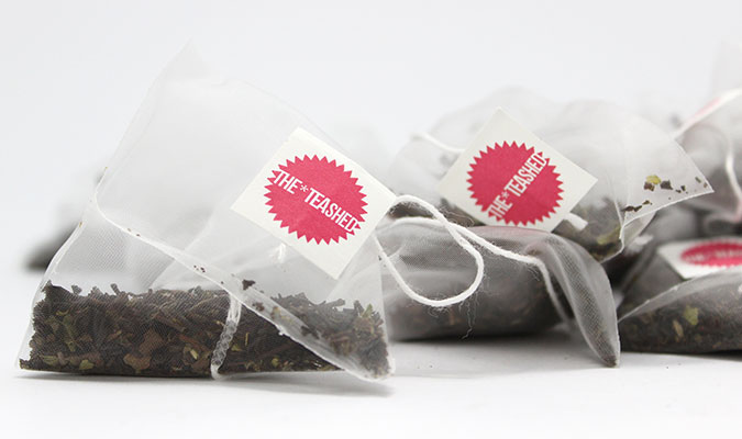 紅茶ブランド ティーシェッド。