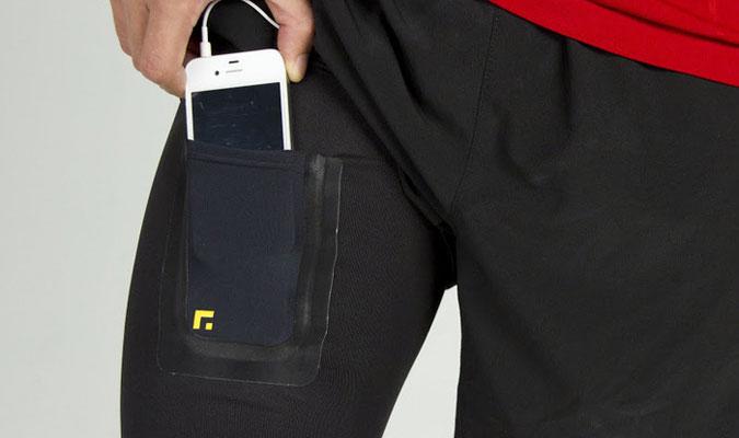 自分でつけるスマートフォン用ポケット