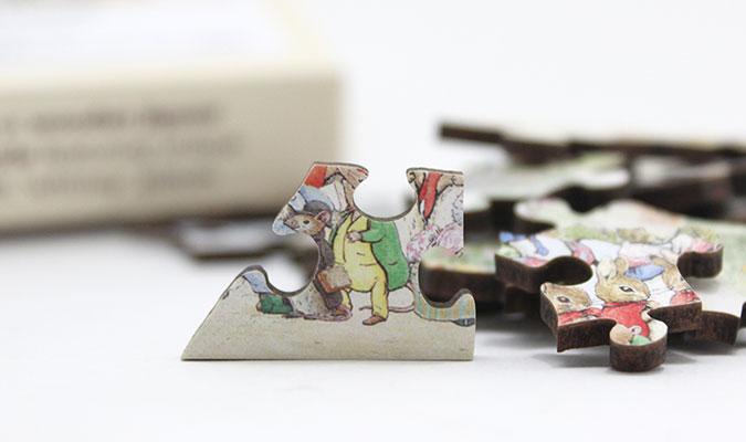 木製ジグゾーパズル ピーターラビット