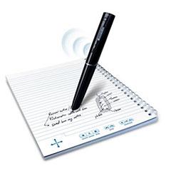 書くと同時に録音もできるペン「エコースマートペン」