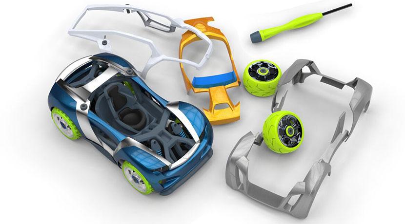 アメリカで人気のミニカー「モダリ」、サスペンションシステム搭載など本格的な機械構造が魅力。