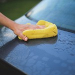 洗車用マイクロファイバー素材 グローブ