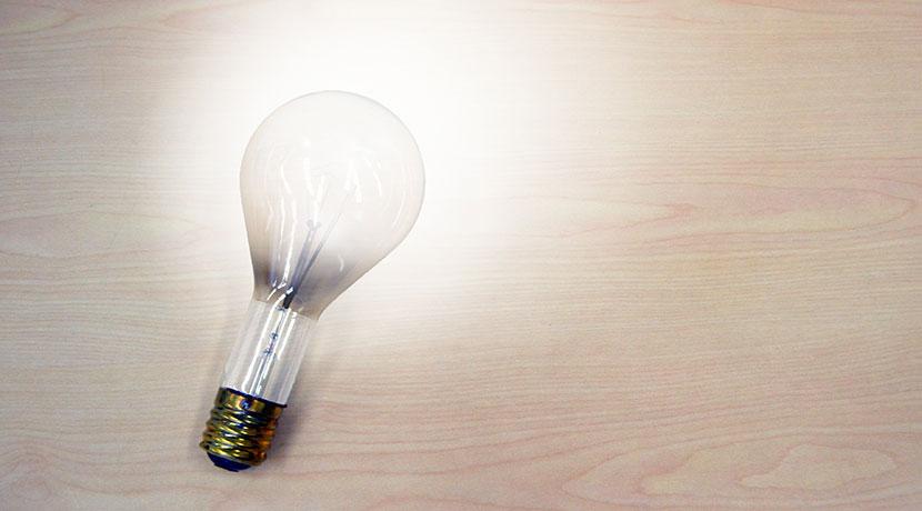iPhoneで操作できるLED電球 Tabu Lumen スマートLED電球(タブ)