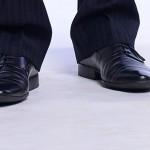革靴の色を変える、カラーチェンジキット ブラック(コロンブス)