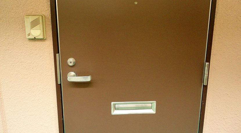 ドアチェーンをしたまま、ドアを開けておくためのグッズ、ドアスキッパー2。