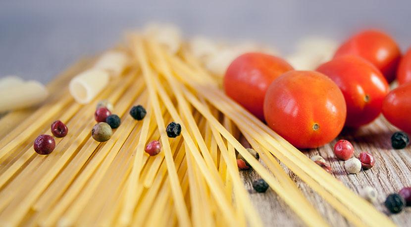 パスタ用メジャーでしっかり測って、パスタの茹で過ぎ、食べ過ぎを防ごう。