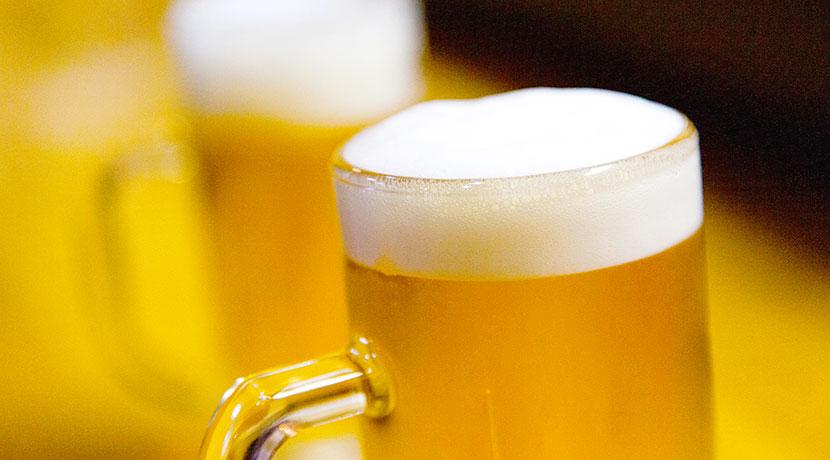 真空断熱のタンブラーでビール、夏におすすめの飲み方。