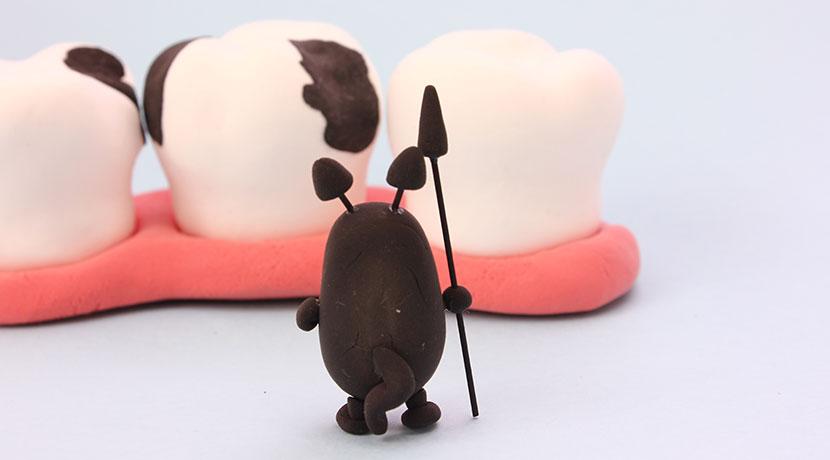 虫歯の治療期間がたった1日、日帰りでできる虫歯治療。
