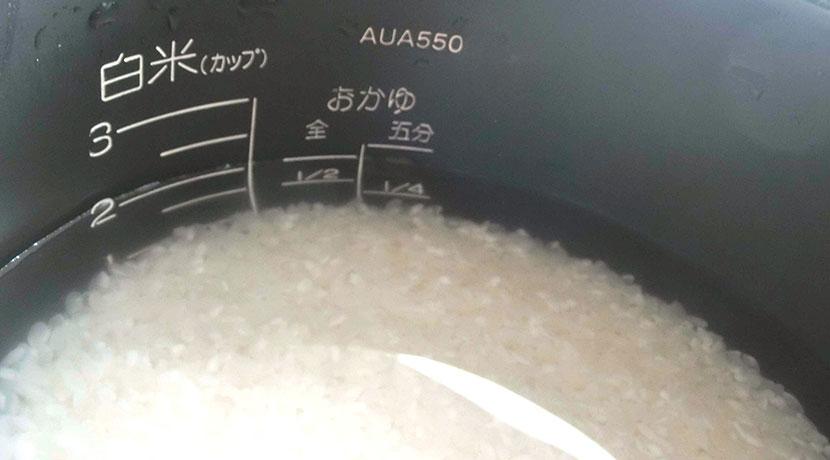 米とぎが自動でできる!ハンドルを回すだけの半自動の米研ぎ器。