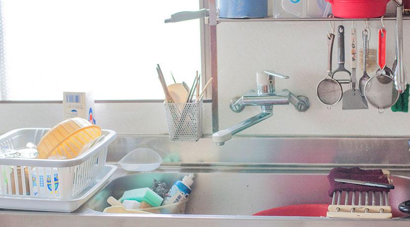 牛乳パックやペットボトルを乾燥させるのにおすすめのキッチンスタンド。