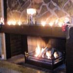 >暖炉型ファンヒーター(威風堂)