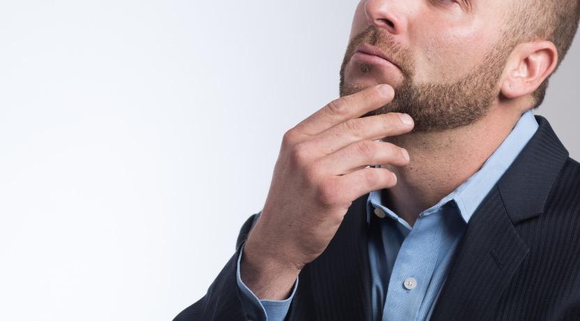 iPhoneに挿して使う、超小型でユニークな、電動髭剃り。