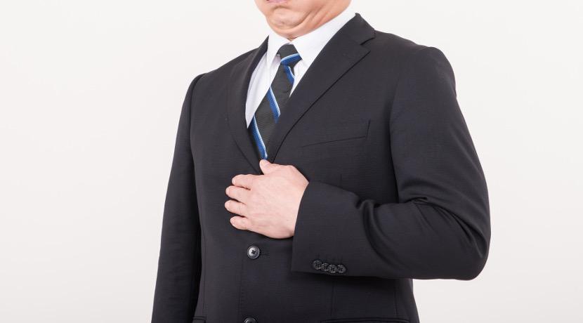 食べ過ぎをスマホに通知してくれる、男性用ベルト。