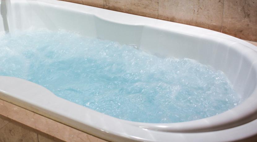 自宅の風呂場に設置できる簡易ジャグジー、ジェットバスが楽しめます。