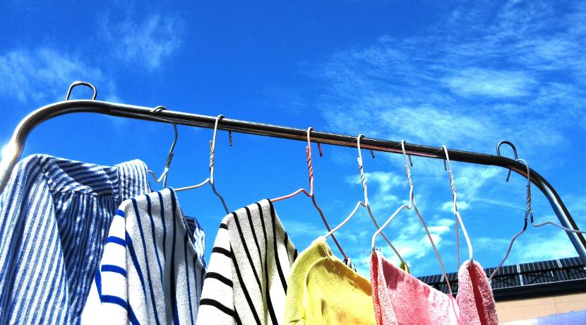 雨から洗濯物を守る雨センサー、洗濯物が雨に濡れてイライラすることが無くなります。
