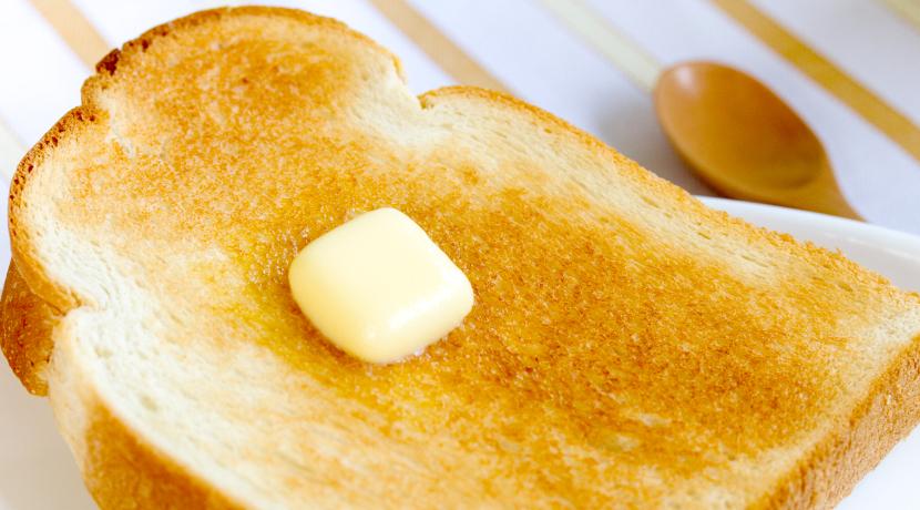 食パン用としておすすめの皿、パリッとした食感をキープできます。