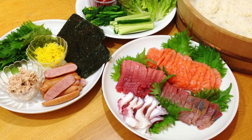 手巻き寿司セット くま&うさぎ(トルネ)
